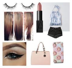 """""""Untitled #166"""" by tumblrsaved2 on Polyvore featuring Levi's, NARS Cosmetics, MICHAEL Michael Kors, women's clothing, women, female, woman, misses and juniors"""