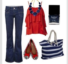Perfect Fourth of July outfit