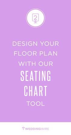 Sign up to create your seating chart & for access to other easy-to-use wedding planning tools!