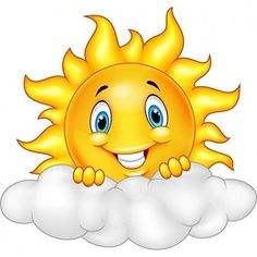 illustration of Smiling Sun Cartoon Mascot Character. Cartoon Cartoon, Cartoon Characters, Art Drawings For Kids, Drawing For Kids, Easy Drawings, Bisous Gif, Smiley Emoticon, Summer Crafts For Kids, Smileys