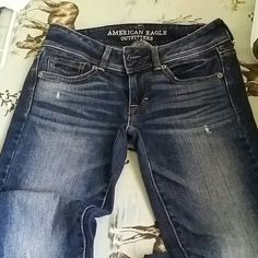 Jeans American eagle, size 0 can  fit size 2, worn 2x,  boot cut American Eagle Outfitters Jeans Boot Cut