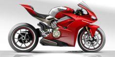 在2017年底,Ducati正式發表全球車迷期待已久的全新仿賽旗艦車款Panigale V4,一改過往招牌的L型雙缸引擎,改以全新設計的V型四缸引擎一口氣躍升為旗下最強跑車,對於一個新引擎與全新車系的研發Ducati可是做了許多努力,今天我們就透過外媒與Ducati Panigale V4外觀設計師得專訪中一同來解析全新車系的設計秘辛吧...