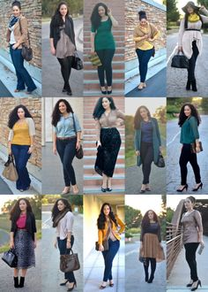 This chic has awesome style. Check out her blog!