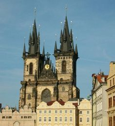 Praga - La gòtica Església de La nostra Senyora davant del Týn