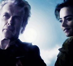 "Last Christmas - Clara: ""I've always believed in Santa Claus, but he looks a bit different to me."" - gif  I love this. It's so beautiful and it shows how far Clara the 12th Doctor's relationship has come :,)"