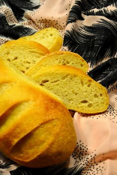 Pane al mais morbido con lievito madre