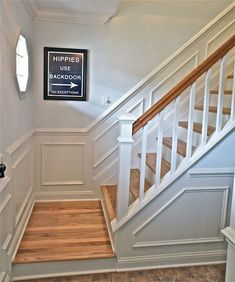 6 Swift Tips AND Tricks: Living Room Remodel On A Budget People livingroom remodel projects.Living Room Remodel On A Budget People living room remodel on a budget house.Living Room Remodel Before And After House Tours. House Stairs, Staircase Remodel, House, Home, Staircase Design, Basement Remodeling, Stair Moulding, Wooden Steps, Staircase Makeover