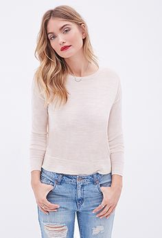 Heathered Wool Sweater   Forever 21 - 2000119364