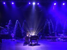 Criss Crossed Christmas from Mission HIlls in Littleton, CO | Church Stage Design Ideas