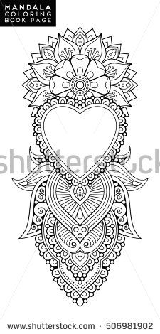 Find Flower Mandala Vintage Decorative Elements Oriental stock images in HD and millions of other royalty-free stock photos, illustrations and vectors in the Shutterstock collection. Mandala Tattoo Design, Mandala Arm Tattoo, Mandala Drawing, Henna Mandala, Mandala Oriental, Indian Mandala, Lotusblume Tattoo, Hand Tattoo, Flower Mandala