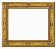 TV Frame M8015 - ITALIAN: A 15th - 16th century Italian cassetta design, this frame is gilded in 22K gold and is adorned with a classic technique from early 14th century panel paintings, pastiglia, which creates a soft, low relief ornamentation on the panel. Width: 3.5