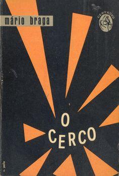 O Cerco - Mário Braga | Capa de Victor Palla