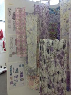 Textiles Surface Design Degree Show 2012