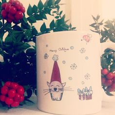 Lovely Cat OrganiCraft Mug.