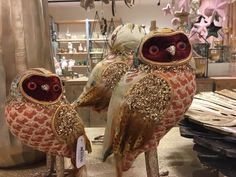 #christmascollection #homedeco #owls #othmardecorations #ootmarsum #christmaspresentation #autumncollection #autumnpresentation