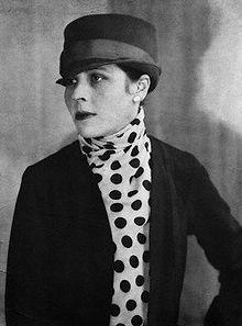Djuna Barnes: Fellow Gemini, Poet, & major figure in the Parisian literary scene in 1920's Paris.