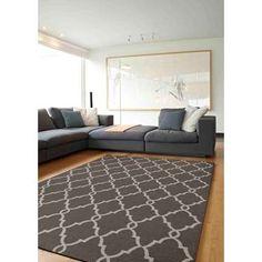 Vloerkleed Melrose - grijs - 120x170 cm | Leen Bakker