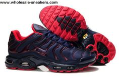 the best attitude 434a6 82d8b Sell 2016 original nike air max tn casual running shoes mens,New tn  chaussures homme pas cher Red blue mesh cloth