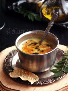 Gujarati Kadhi !! Comfort food at its best !!