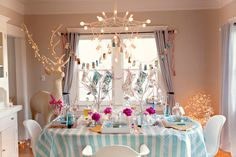 This would be a wonderful winter wonderland party... Maybe next winter.