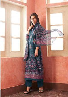 cddddab468 Buy Esta Allura Digital Printed Pashmina with Handwork Suits 06