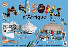 Maisons d'Afrique de Jeanne Chausson et Myriam Tiberghien Mitik