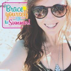 #SUMMER IS A GREAT TIME for orthodontic treatment! There's more time to make appointments and adjustments, and figure out braces-friendly foods! Call and schedule your complimentary appointment today ! Samantha & Deborah will be happy to answer any questions for you !! #happysummer Call : 954 437 9477