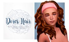 Dores Hair - all of your adventures sims will want this hair. • BGC; • Comes will all 18 EA hair colors; • No Hat Compatible; • Headbands located on the hats section. (Alot of them); • Custom...