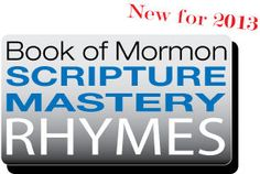 Scripture Mastery Rhymes