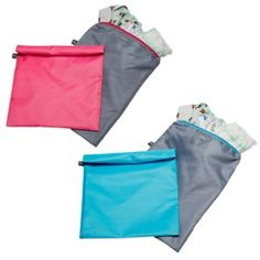 Buy Wet-to-Go Wet Bags 2-Pack in Grey/Pink from Bed Bath & Beyond