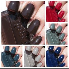 Going for a mani tomorrow... Which of @essiepolish 's fall colors should I choose?! - @racheljosilver (pic via thepolishaholic.com) #Padgram