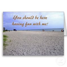 I Miss You Siesta Keys Greeting Card10% Off All Gifts & 50% Off Select Cards!   Use Code: GIVEMOMSLOVE