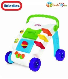 Little Tikes Wide Tracker Activity Walker, Multi Color @ Rs.920/-