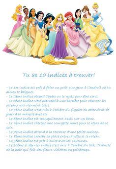 Ré-Créations de Lili: Chasse au trésor#1 Les princesses