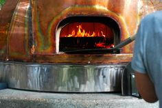 Beautiful wood fired oven