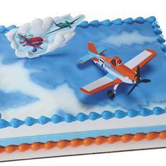 Disney Planes cakes | Disney Planes Dusty Cake Decorating Kit (2 pcs.), FREE shipping offer ...