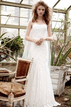 Galina, Exclusively at David's Bridal: Style WG3381 * i think this one would be great for an outdoor summer wedding
