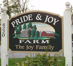 Residential and Farm Signs Farm Entrance, Farm Name, Joy Sign, Salon Signs, Farm Signs, Farmhouse Signs, Farmhouse Style, Rustic Signs, Wooden Signs