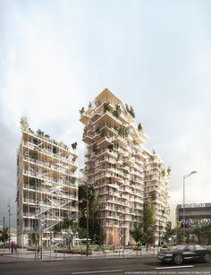 Canopia, Bordeaux, Sou Fujimoto Architects, laisné roussel