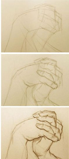 Tips on how to draw hands