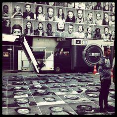 JR Inside Out Project #millerntorgallery in Hamburg #insideoutproject #jr #urbanshit #urbanart