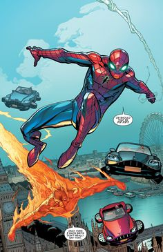 "Amazing Spider-Man - ""Set in Stone"" written by Dan Slott & Christos Gage art by Giuseppe Camuncoli, Cam Smith, & Marte Gracia Hq Marvel, Marvel Comic Universe, Disney Marvel, Marvel Dc Comics, Comic Book Characters, Marvel Characters, Comic Books Art, Comic Art, Comic Movies"