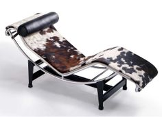 The chaise-longue LC4 CP by Le Corbusier, Pierre Jeanneret, Charlotte Perriand_1925 #chaiselounge #lecorbusier
