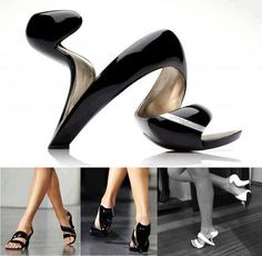You are kidding me!!! like wearing art for your feet...  Elegant Mojito Shoe from Julian Hakes [video] - AllDayChic