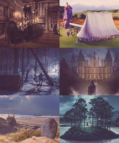 Harry Potter and the Deathly Hallows: Scenery Concept Art