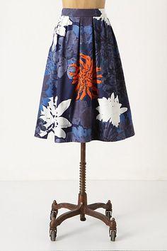 Full-On-Floral Skirt by Marimekko