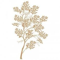 Stencil Deco Floral 032 Arbol