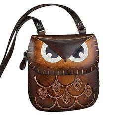 Owl Leather Handbag