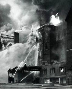 Virna Haffer - Old Tacoma Hotel Fire, c. 1935