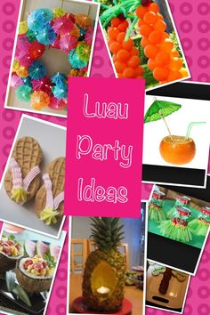 Luau party ideas...Lechuga Luau party?